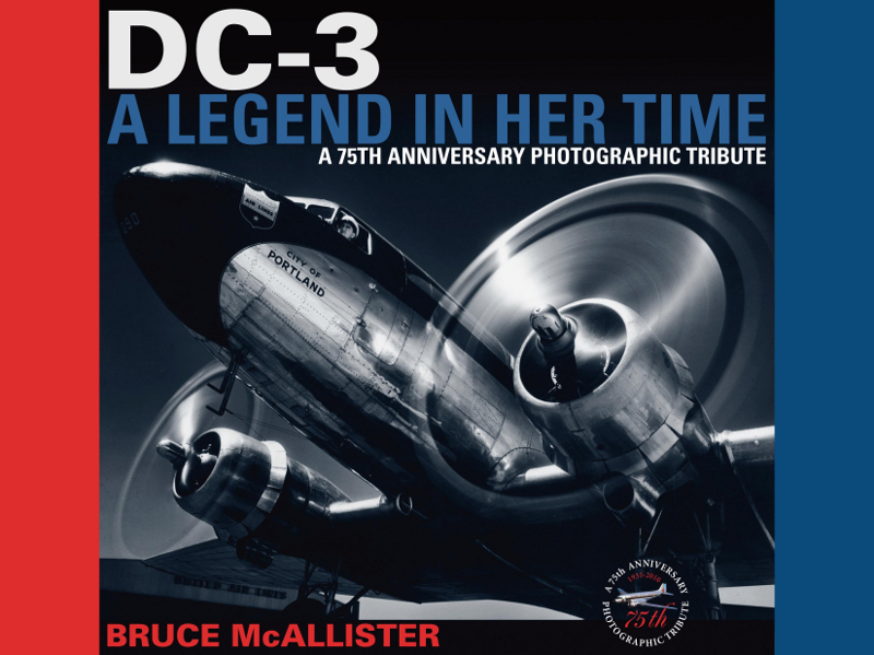 Book DC-3 A Legend in Her Time Bruce McAllister